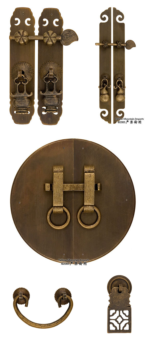 Diy cabinet makeover from danish modern to antique for Asian furniture hardware drawer pulls